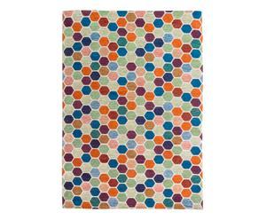 Tapis ANN, multicolore - 135*200