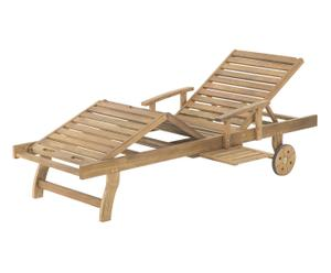 Transat inclinable HARDT, naturel - L200