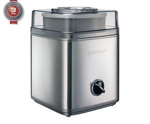 Machine à glaces, argenté et transparent - H30