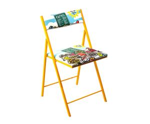 Chaise pliable YELLOW - L43