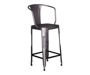Chaise haute, gris - L42