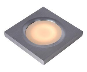 Plafonnier encastrable HALOGÈNE 50W, chrome - L9