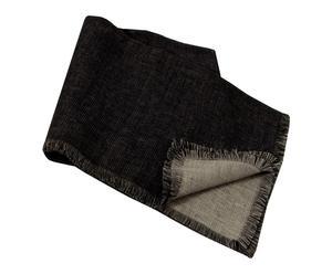 Nappe MOABI, noir - 150*150