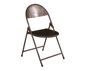 Chaise pliante CINEMA II, gris - L40