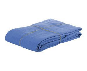 Drap plat, bleu, 180 x 290 cm