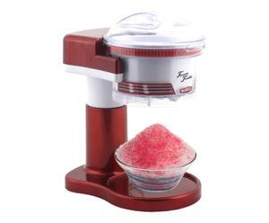 Machine à glace éléctrique, rouge et blanc - 19*17