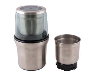 Moulin à café éléctrique à lames, argenté - 20*11