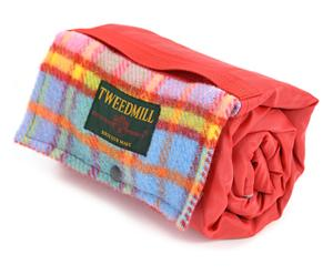 Couverture de pique-nique ZULA laine, orange - 66*98