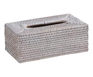 Boîte à mouchoirs, blanc - 25*13
