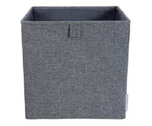 Cube de rangement, gris - 31*31