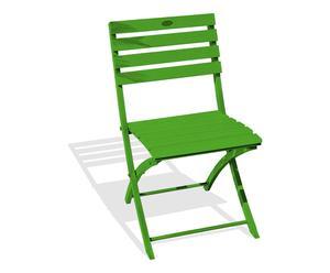 Chaise pliable MARIUS - vert
