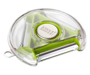 Éplucheur à légumes 3-en-1, vert - L10
