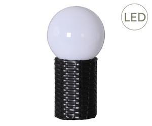 Lampe solaire GLOBE, noir - H29