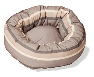 Coussin pour chien ELA coton, beige - Ø51