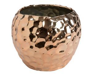 Vase cuivre martelé, cuivré - Ø16