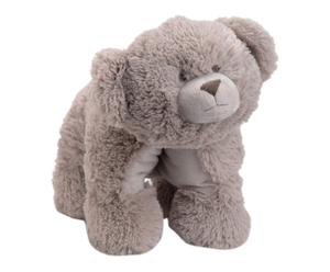 Ourson en peluche polyester, taupe - 50*35