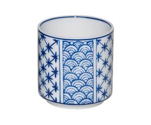 6 Tasses Japon, Porcelaine - Ø7
