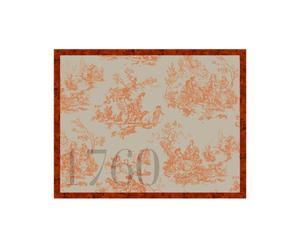 Cadre aimanté jouy, orange – 50*60