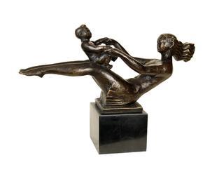 Sculpture Mère et enfant, Bronze