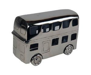 Bus décoratif, aluminium - L43