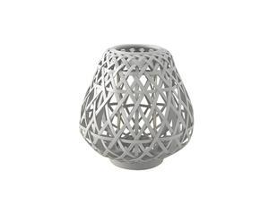 Lanterne Savana bambou, blanc - H29