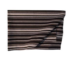 Couverture coton, noir et blanc - 100*140