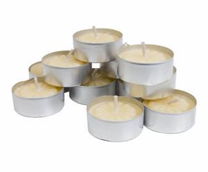 12 Bougies chauffe plat, vanille