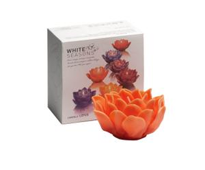 Bougie Lotus, Orange - 260g