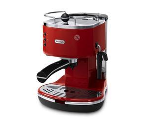 Machine à Expresso Delonghi ECO, rouge - 310R Icona