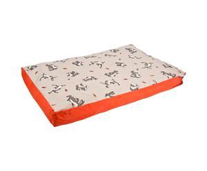 Coussin pour chien LAPINS, coton – L90