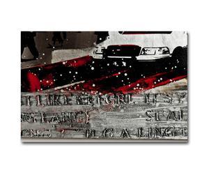 Peinture sur toile QUADROTAXI CITY - 100*100