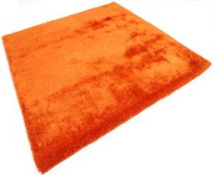 Tapis Shaggy Sensual, orange - 180*180