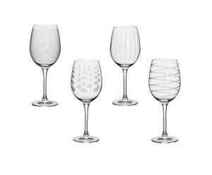 4 Verres à vin Cheers, cristal - 47cL