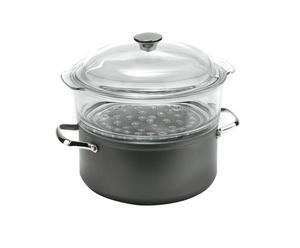 Cuiseur vapeur COTTURE, aluminium - Ø24