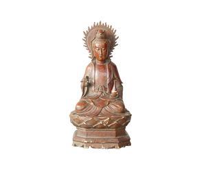 Sculpture de Guanyin, orme - L22