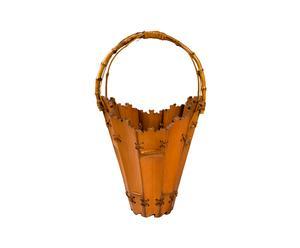 Panier pique-nique antique chinois, Bambou - L28
