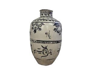 Vase chinois, Porcelaine - L43