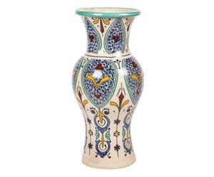 Vase  EXIE Céramique, Bleu et jaune - Ø20