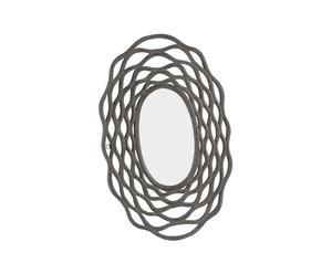 Miroir bois, gris - 60*90