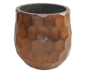 Vase palmier, Naturel - H50