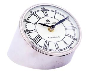 Horloge de bureau Acier, Argenté - H13
