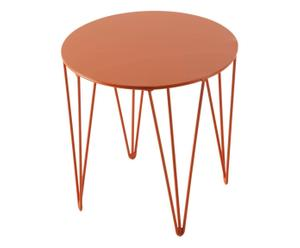 Table d'appoint CHER, Orange - Ø30
