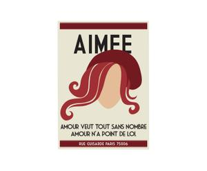 Affiche Aimee - 42*60