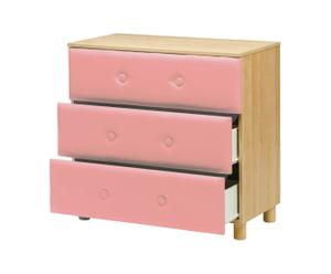Commode SOFT, Rose - L90