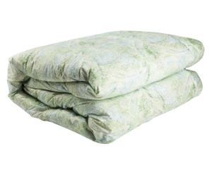 Édredon réversible ELITE Duvet d'oie blanche hongroise, Vert d'eau - 270*260