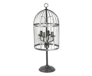Lampe à poser Métal, Beige - Ø30