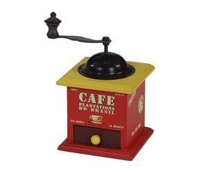 Moulin à café , Rouge et jaune - H10