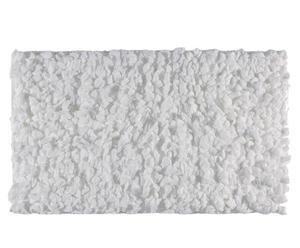Tapis Polyester, Blanc - 100*60