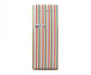 Réfrigérateur – Congélateur inox, multicolore – H151