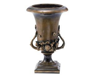 Vase Résine, Bronze - H29